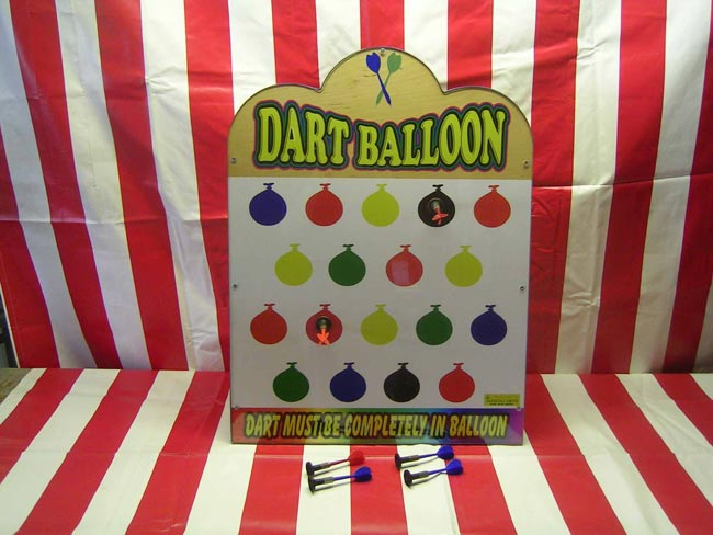 Balloon Suction Dart Carnival Game