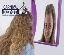 head stretcher funhouse mirror
