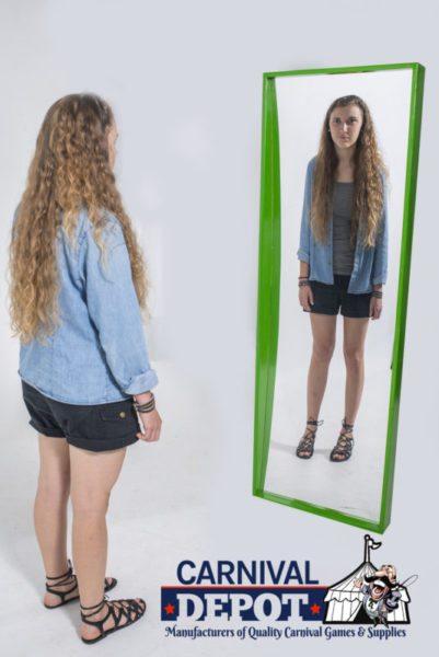 Funhouse Mirror 6' (Green Frame)