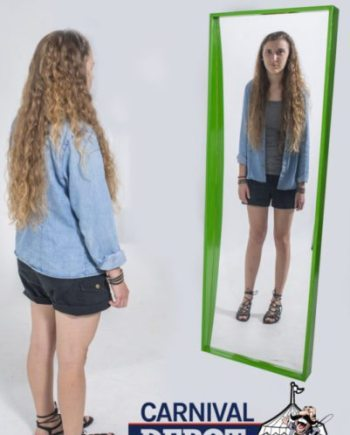 Funhouse Mirror 6' (Green Frame)