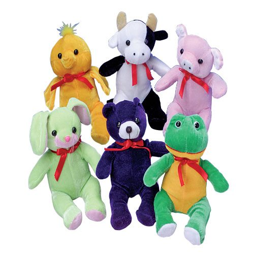 "8"" Assorted Carnival Prize Plush"