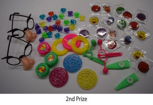 Carnival Prizes Bulk 2nd Prize