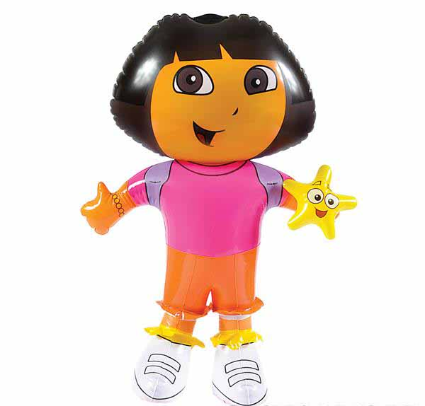 Awe Inspiring Dora The Explorer Inflate 24 Licensed Inflatables From Carnival Depot Evergreenethics Interior Chair Design Evergreenethicsorg