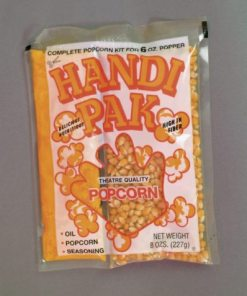 All In One 6oz Popcorn Pack