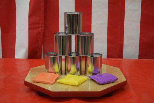 Tin Can Toss Game