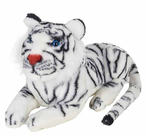 "15"" White Tiger Plush"