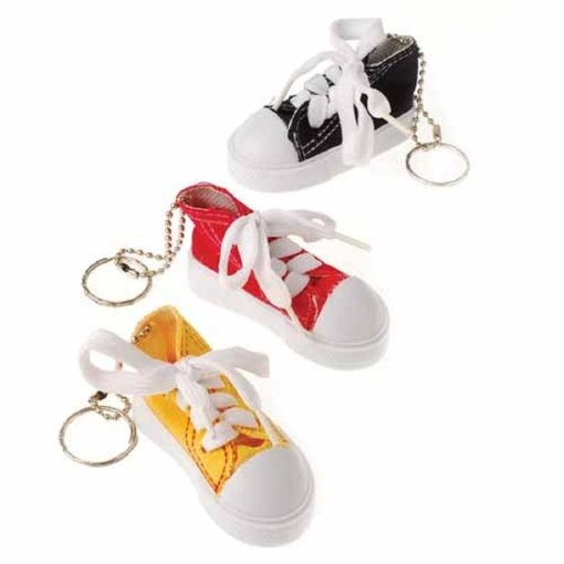 Lace Up Sneaker Key Chains