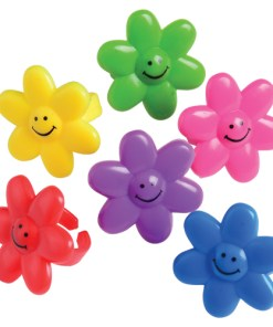 Smile Face Flower Rings Carnival Prize