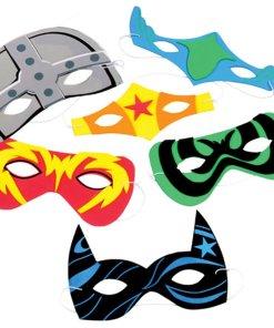 Superhero Foam Mask