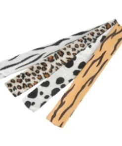 Animal Print Slap Bracelets