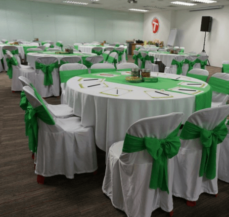tables and chairs rental singapore