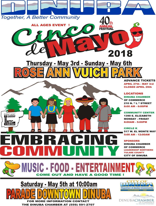 Dinuba Cinco De Mayo Festival Dinuba Ca