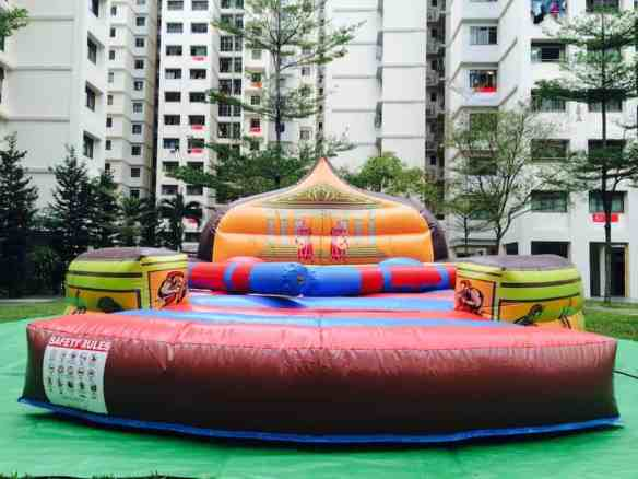 Sparta Challenge Inflatable Rental