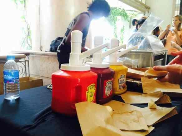 hot dog stall singapore