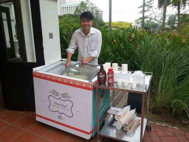 Ice-Cream-Stall