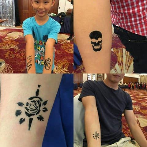airbrush tattoo in singapore