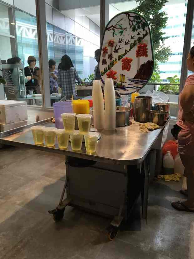 Bird Nest Drink Stall for hire Singapore