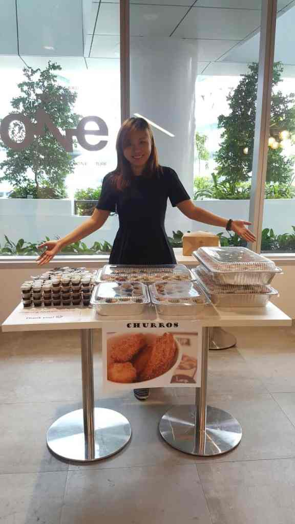 Churros Stall Event Singapore