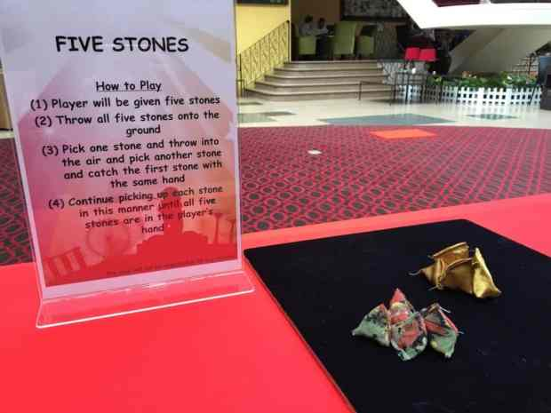 Five Stones Game for Event
