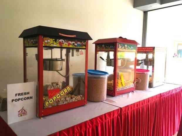 Professional Popcorn Machines for Rent