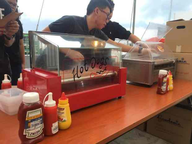 Hotdog Machine Rental Singapore