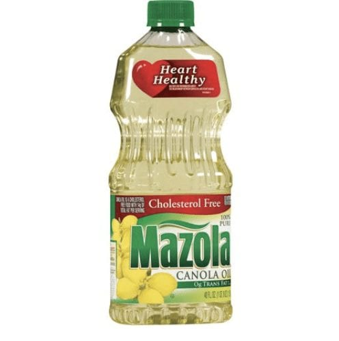 Vegetable oils claiming heart healthy claims