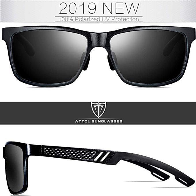 Retro Driving Polarized Sunglasses By ATTCL0