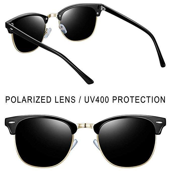 Semi Rimless Polarized Sunglasses By Joopin0