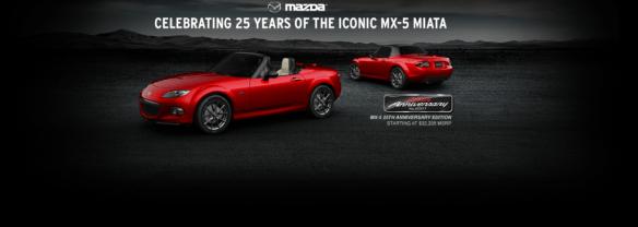 MX-5 anniversary edition