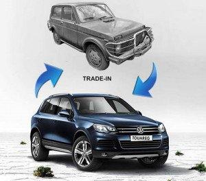 Billeder Salg af bilen gennem en bilforhandler på handels-in, rosautopark.ru