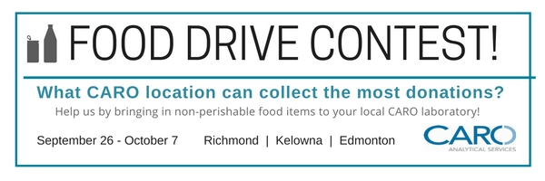 CARO Food Drive Contest Details
