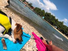 Caro et Cosmos plage Zadar
