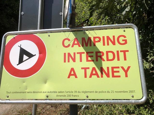 camping au lac de taney