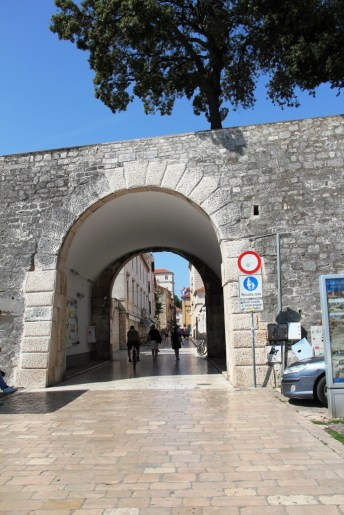 Entrée Zadar