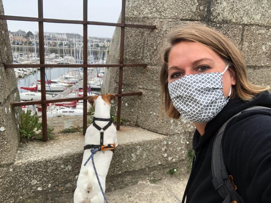 La Bretagne avec son chien