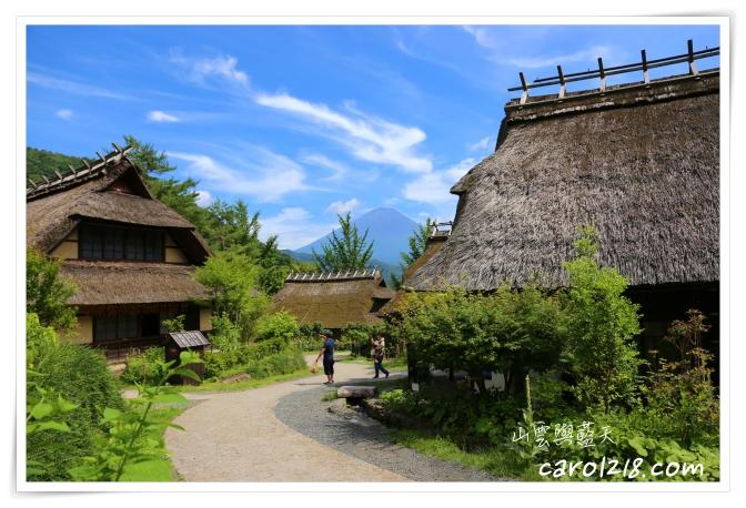 [河口湖自駕]療癒之村西湖里根場~富士山腳下小合掌村