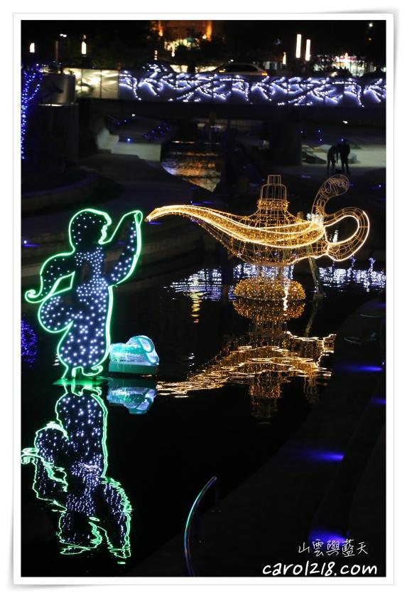 2019台中耶誕夢想世界,TSUMTSUM,台中耶誕節,台中聖誕節,台中舊火車站,台中迪士尼,柳川水岸,迪士尼