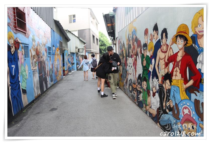 動漫街,台中市西區,台灣最美農村故事館,第五市場,蚵仔粥