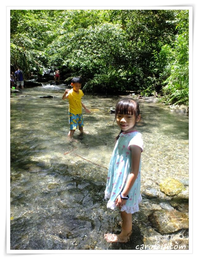 中部戲水,中部戲水景點,中部玩水,南投觀音瀑布,埔里景點,埔里親子遊,觀音吊橋,觀音瀑布