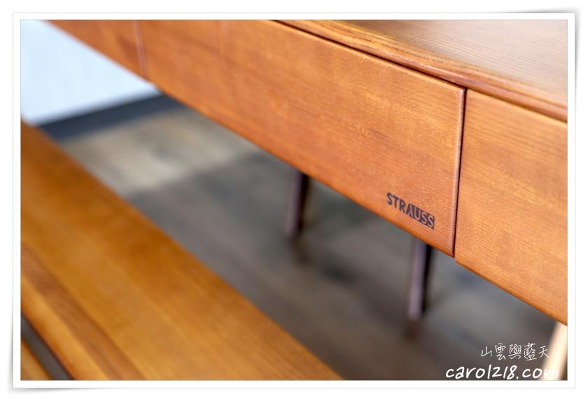 [家具]有情門STRAUSS餐桌椅組合~造型簡單優雅耐看的國產質感家具