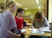 Breisach, Theresianum: Autogramme gehören auch dazu