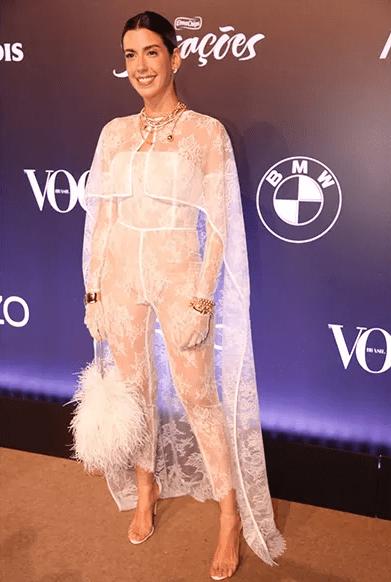 look camila coutinho baile da vogue 2018