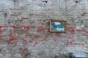 Stadtmauer mit Bild