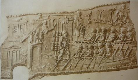 provincial fleet ships on Trajan's column
