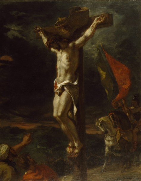 Christ on the Cross (1846) Eugene Delacroix