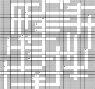 crossword blank