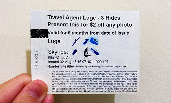 斜坡滑車門票