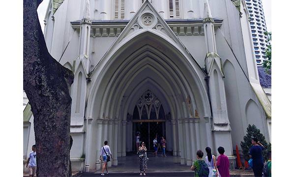 聖安德烈教堂門口