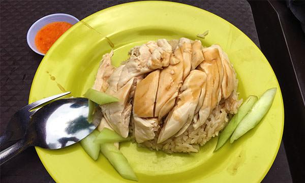 天天海南雞飯的香滑嫩雞