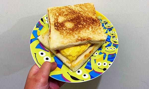 蕉ㄚ吐司 吉士蛋三明治